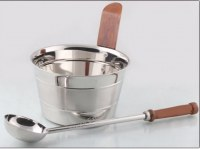 Stainless Steel Sauna Bucket