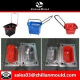 Plástico comercial de inyección de moldes cesta con alta calidad.