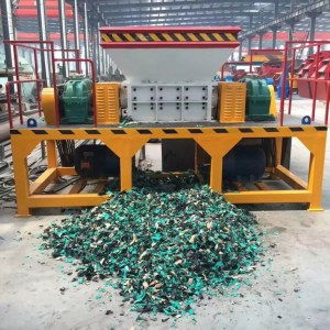 China Trituradora del metal del aceite de la chatarra del desecho del metal de la tritu...