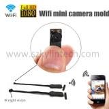Pequeño mini módulo de micro cámara inalámbrica Wifi 940nm ir visión nocturna