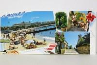 C031 CANNES - CÔTE D'AZUR - Lot de 25 cartes postales panoramique