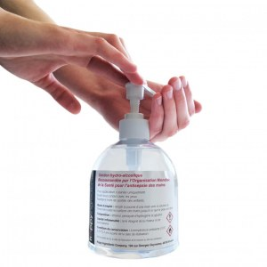 Solution Hydroalcoolique en flacon de 500ml