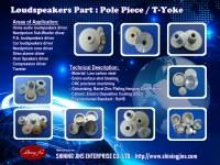 High quality Neodymium U YOKE Speakers part made in Taiwan