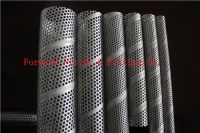 Spiral Welded Perforated Pipe