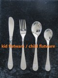 Enfants de vaisselle en acier inoxydable