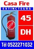 Contrôle extincteurs - Maintenance extincteur - Vérification