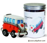 Educational Toys 3D Colored Clay-Vintage cars
