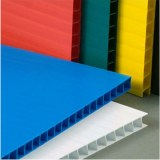 Electrostatic Discharge PP Hollow Sheet Polypropylene Corrugated Twin Wall Hollow Sheet