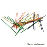 Lawn Game Set Giant Wooden Mikado Pick-up Stick Game For Kids