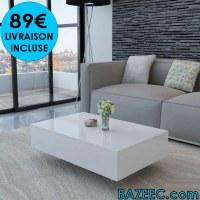 Table basse Haute brillance LIVRAISON GRATUITE