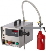 Tabletop Gear Pump Liquid Filling Machine