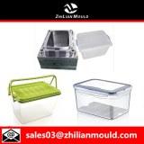 Molde contenedor de inyección de plástico de alta calidad.