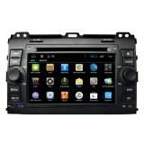 Radio Serie Toyota mayorista Android coches reproductor de DVD para el Prado 120