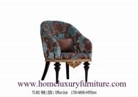 La tela de las sillas de cuero de las sillas que cena el lujo clásico de las sillas pre...