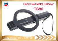 Detecte el área puede detector de mano plegable de la seguridad del detector de metales para la...