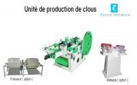 Unité de production de clous PC