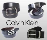 Lot de Ceintures Calvin Klein Cuir