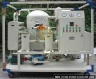 Etapa doble aislamiento al vacío de aceite de regeneración purificador