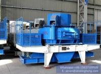 La arena que hace la trituradora de impacto VSI la trituradora de impacto vertical del...