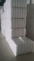 Hydrophiles Fibres de coton blanchies