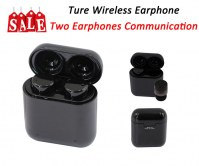 Soporte de comunicación True Earphone-Two Earphones