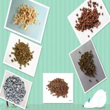 PP/PE with wood composite WPC pellet extruder machinery