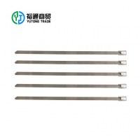 Correa de cables con correa de metal