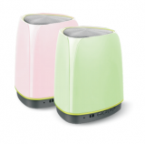 Speaker with smart LED