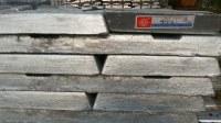 Zinc 99.995 de alta pureza para la industria de la batería