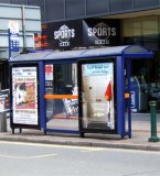 Diseño parada de autobús