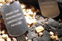ZT-GD-U0230 Black plastic colloid u disk
